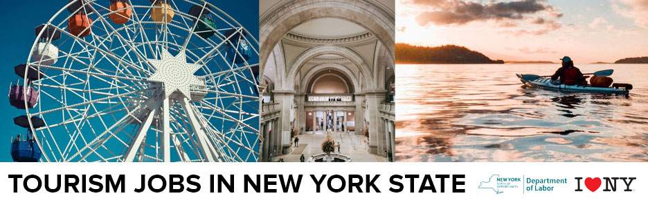 Find NY Tourism jobs