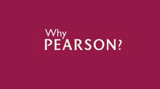 What's it like to work for Pearson?