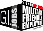 GI Jobs 2012 Top 100 Award