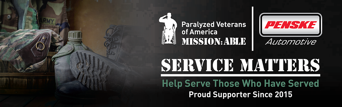 paralyzed verterans of america mission:able banner
