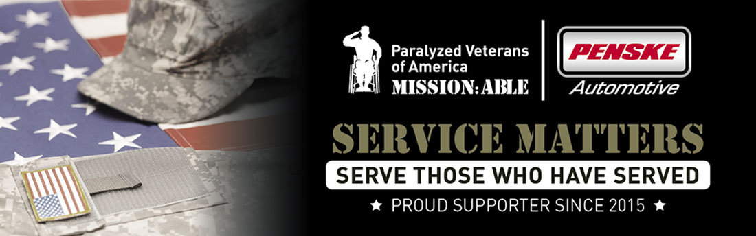 paralyzed veterans of america mission:able banner