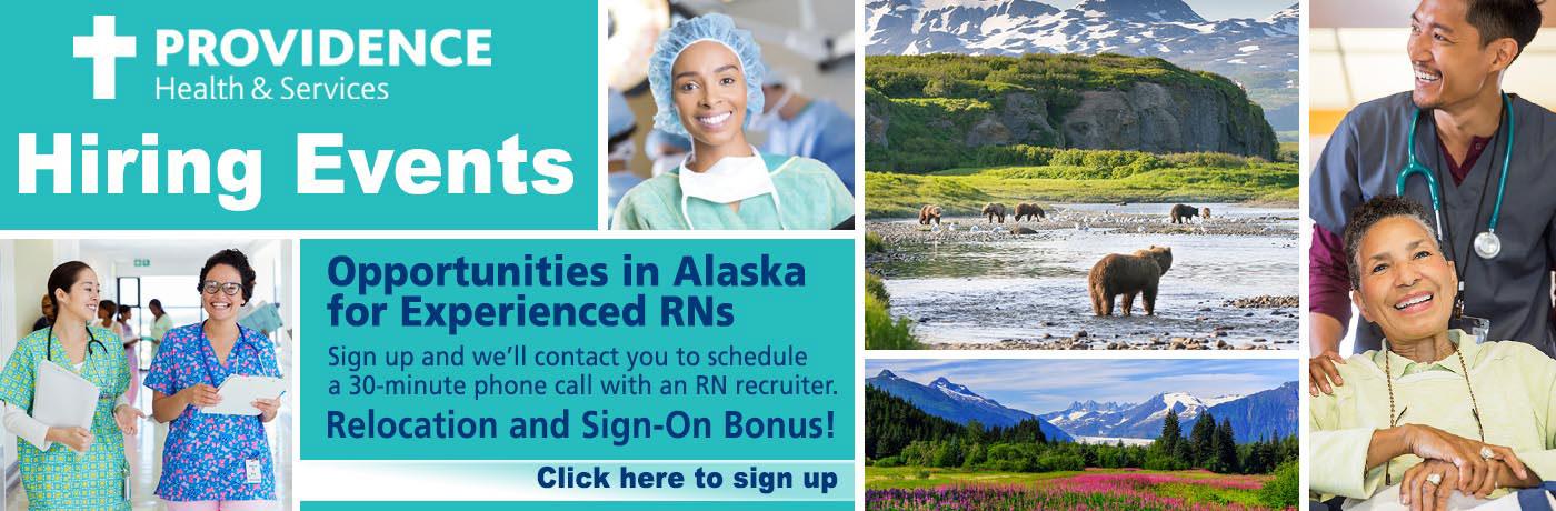 Providence Alaska Hiring Event