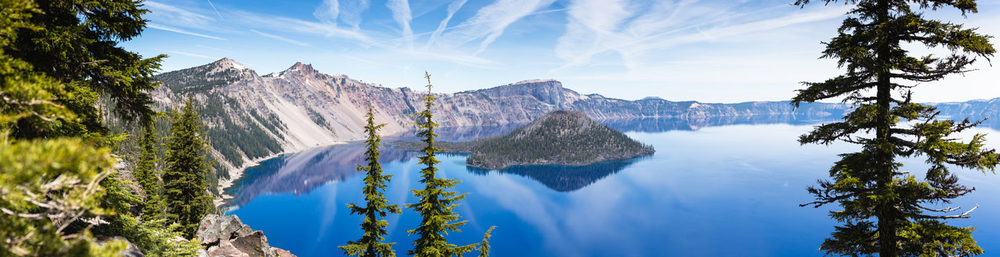 Crater Lake Oregon.