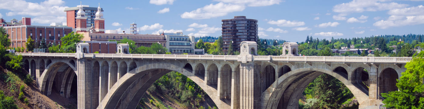 Monroe Street Bridge in Spokane