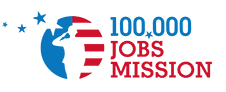 100,000 jobs mission logo