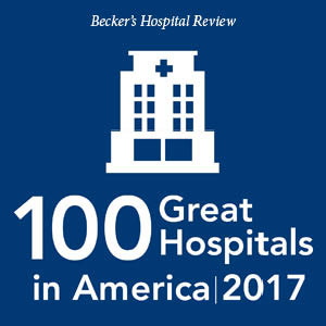 Becker's Hospital Review 100 Great Hospitals in America