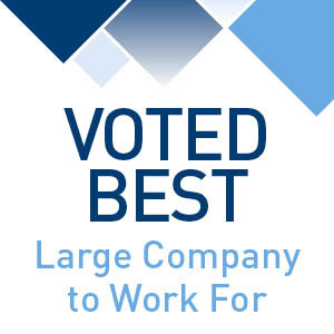 Voted Best Large Company to Work For