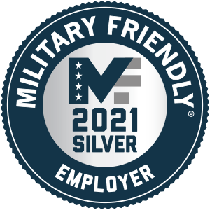 Military Friendly Employer Silver Award 2021