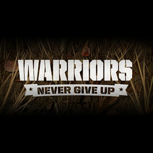 Warriors Never Give Up logo