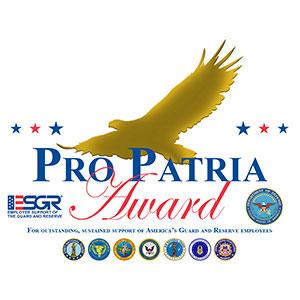 Pro Patria Award