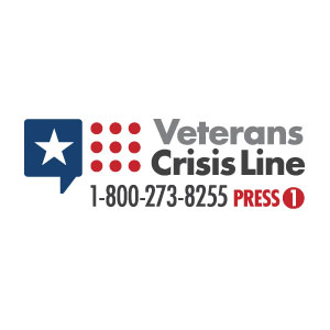 Veterans Crisis Line 1-800-273-8255, press 1