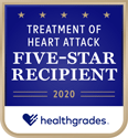 Healthgrades 5 star treatment of Heart Attack