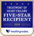 Healthgrades 5 star treatment of Heart Failure