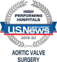 US News HIgh Performing Hospitals Aortic Valve Surgery