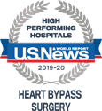 US News HIgh Performing Hospitals Heart Bypass Surgery