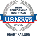 US News HIgh Performing Hospitals Heart Failure