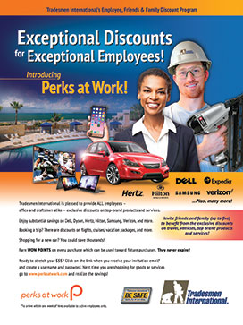 Perks at Work Flyer