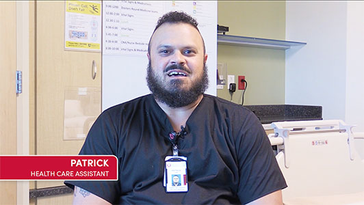 Patrick - Health Care Assistant