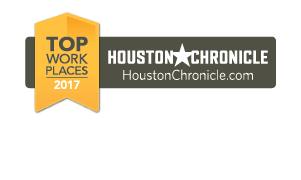 Top work places 2017, Houston Chronicle, houstonchronicle.com, seven consecutive years, 2010-2017